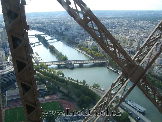 Eiffelova věž - výhled