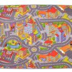 Dětský koberec silnice RALLY x cm