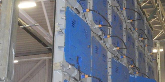 Velkoplošné LED stěny vám pomohou být vidět