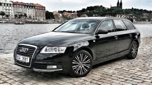 pronájem luxusní Audi A avant s automatickou převodovkou