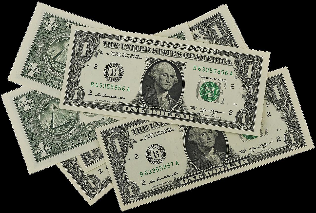 dolarove bankovky