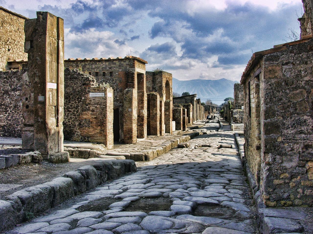 Pompeje stále přitahují pozornost mnoha lidí