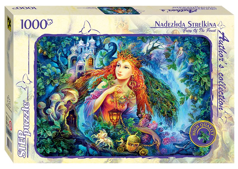 step puzzle nadezhda strelkina fairy of the forest puzzle teile. .fs